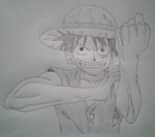 Luffy by Anderuu