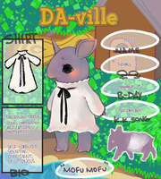 da-ville - RUE THE TAPIR by angitsai
