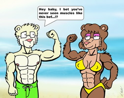 Muscles by NeroUrsus