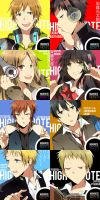 high note : fake covers by yuina-chan