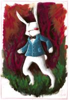 TheWhiteRabbit_colored by DeathMortifer
