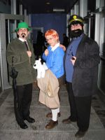 Tintin Group Cosplay by Seiryuu-san