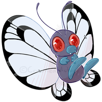 Butterfree - FA - by CrownedVictory