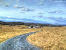 The Gravel Road by jim88bro
