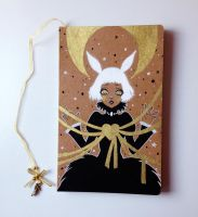 Luna Hare Handmade Notebook by The-Nonexistent