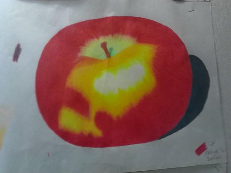 Realistic Apple by Atlantean-chick
