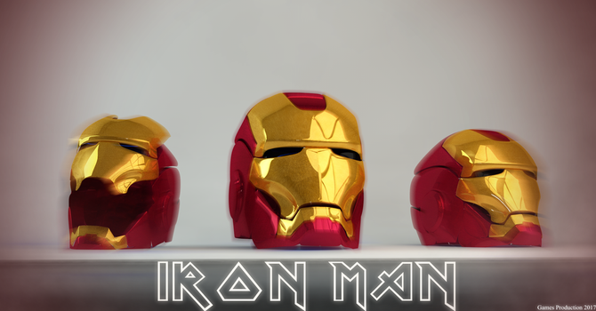 Iron Man - Head by GamesProduction