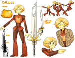 [Gem OCs] Calcite by Riccasze