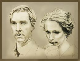 Mr. and Mrs. Tietjens by Teacosey