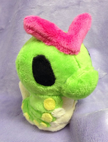 Caterpie Palm Plush by GlacideaDay