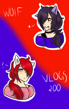 Wolfvlogs200 by lamorley