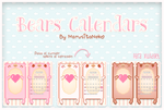 Bears Calendars by marusitaneko