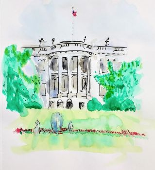 White House by DParkerEdwards