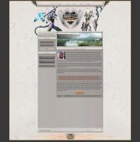 FusionCMS   First White WoW Design   For Sale by LoomarNet