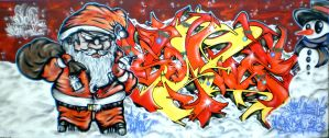 SANZ CRISTMAS by SANS-01-2-MHC-BS