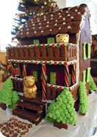 Gingerbread House by cake4thought