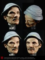 1-6 Ramon Valdez sculpt paint by CheungKinMen