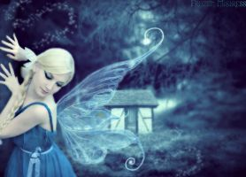 Blue Fairy by frozenmistress
