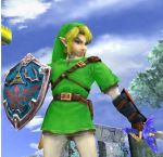 Ocarina of Time Link in Brawl by tomyvercti93