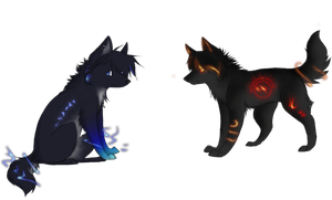 Adoptables 4 by cristal-wolf94