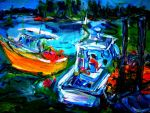 Harbor Boats   LProctor by LaurieLefebvre