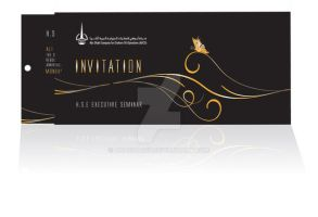 invitation card by anacharef