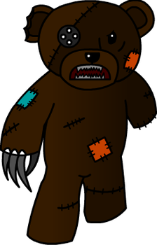 Haunted Teddy Bear by SirCucumber