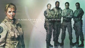 Amanda Tapping as Colonel Carter by endzone7