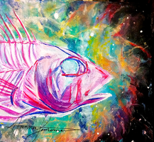 Fish Nebulae by hannalemoine