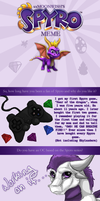 My Spyro Meme by TheMoonfall