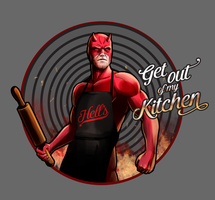 Daredevil Chef of Hell's Kitchen by steevinlove