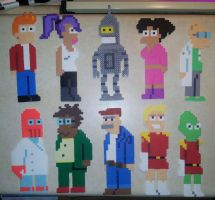 Futurama Cast by IAmArkain