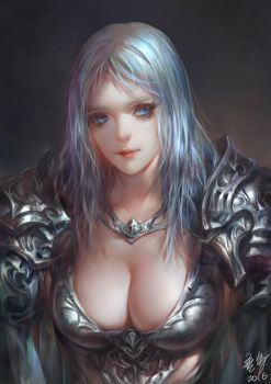 Silver Knight by Wuduo