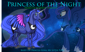 Princess of the Night Banner for Ovipets by Nyxcatti