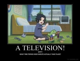 TV IN NARUTO? by ShiraAburame