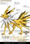 Pokedex 135 - Jolteon FR by Pokemon-FR