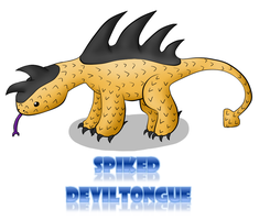 Spiked Deviltongue by alliechu