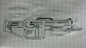 gears of war style 1 by wormyish