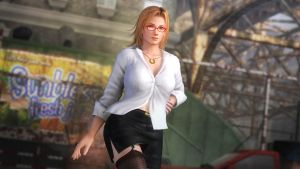 DOA5 Tina Armstrong Formal Wear by darkblueking