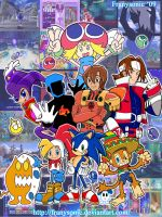 Sonic Team by Franysonic
