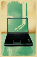 iso50 vintage- my laptop by SoullessEvil