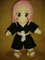 Yachiru Plushie_ Full Scene by renealexa
