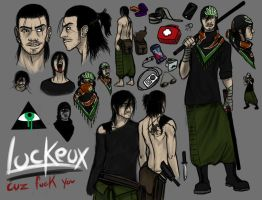 Luckeux Refsheet by Luckeux