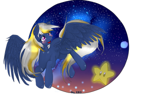 Starlight speckle and Starman commission by ShyMemories