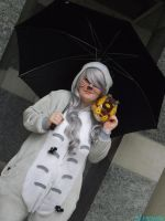 Totoro At thought bubble by IamNasher