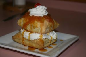 Peach Puff Pastry by Suskygirl