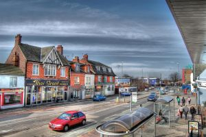 Town Centre HDR by nat1874