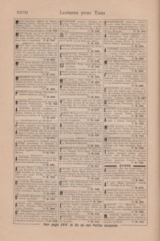 Stock - Antique vintage french classified ads by Algesiras