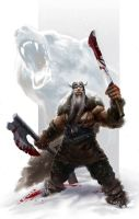 Viking Berserker by SirenD