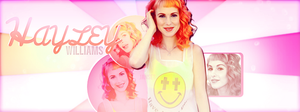 Hayley Williams FB Cover Photo by carmenart-ca